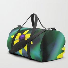 Wild Black Eyed Susan Duffle Bag