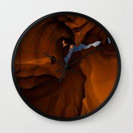 Night - Upper Antelope Canyon, Arizona Wall Clock