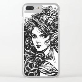 Elven Princess Clear iPhone Case