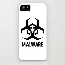 MALWARE Logo iPhone Case