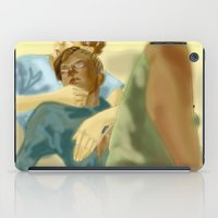 les mis iPad Cases featuring Sleepy Les Miserables by Pruoviare