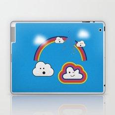 The Great Rainbow Cloud Robbery Laptop & iPad Skin