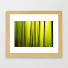 Fast Trees Framed Art Print