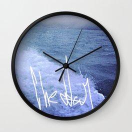 Water Bed Wall Clock
