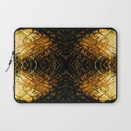 Antique Orange Pearl Sea Fan II by Chris Sparks Laptop Sleeve