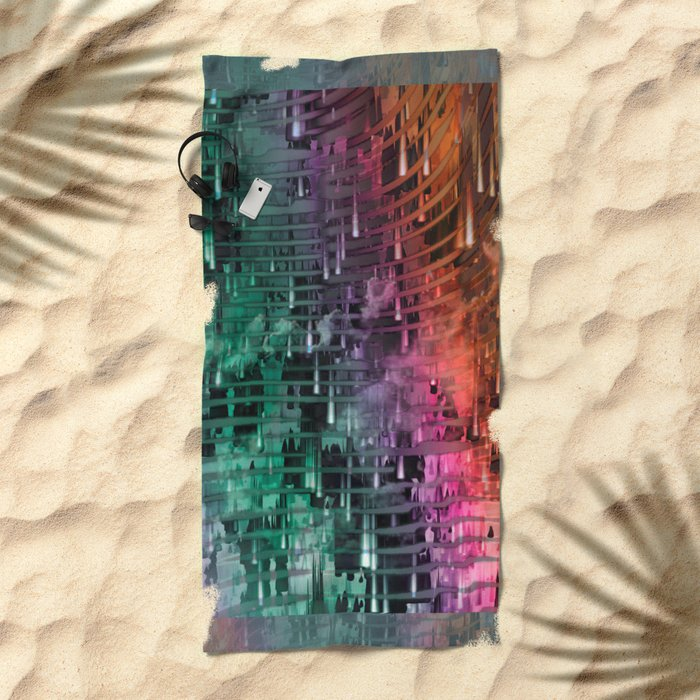 Spatial Factor 101 / Texture 30-10-16 Beach Towel