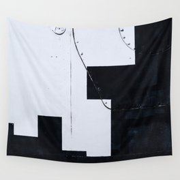 Abstract art of the space exploration era Wall Tapestry