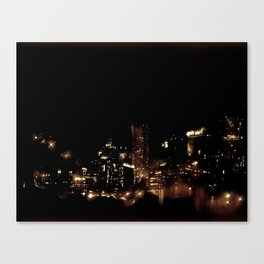 Lost in Some City No. 8 Canvas Print