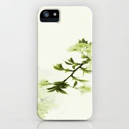 White Cherry Gr iPhone Case