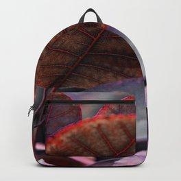 Bleeding Red Leaves Backpack