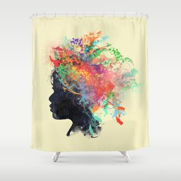 Wildchild (aged ver) Shower Curtain