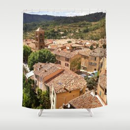 Rustic French Village Shower Curtain
