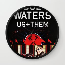 roger waters tour 2020 nkin5 Wall Clock
