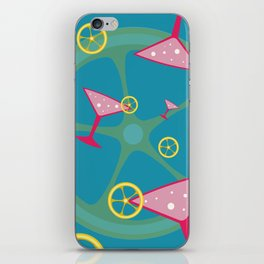 cocktail iPhone Skin