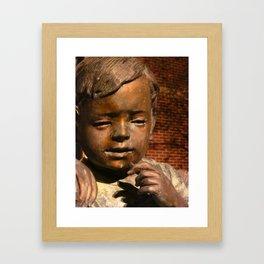 Bow Before Children Framed Art Print
