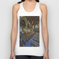 christ Tank Tops featuring Christ Church by Ian Mitchell