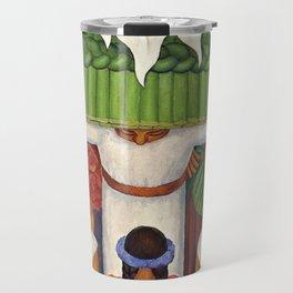 Flower Festival No. 2 - Feast of Santa Anita by Diego Rivera Travel Mug