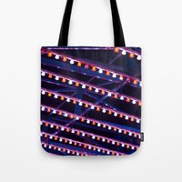 broadway Tote Bags featuring Broadway by Mistflower