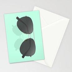 Aviator sunglasses Stationery Cards