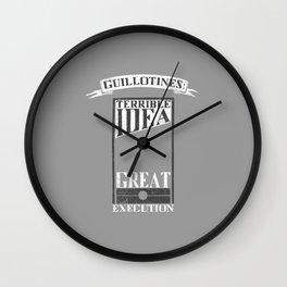 Guillotines Wall Clock