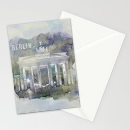 BERLIN Brandenburg Gate | watercolor Stationery Cards