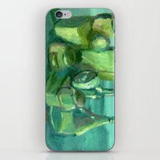 Still Life Study in Green iPhone & iPod Skin