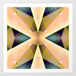 Geometric Mandala 03 Art Print