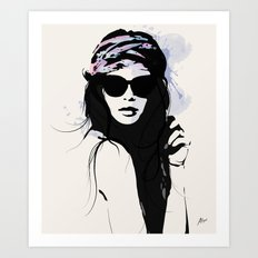 Infatuation - Digital Fashion Illustration Art Print