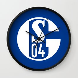 Schalke 04 Wall Clock