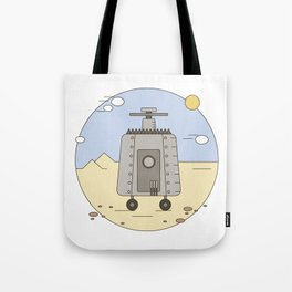 Pepelats. Russian science fiction. Tote Bag