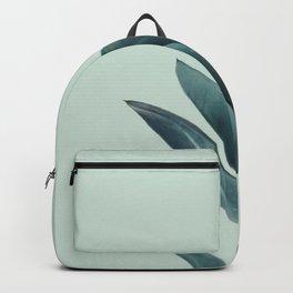 Teal Mint Plant Backpack