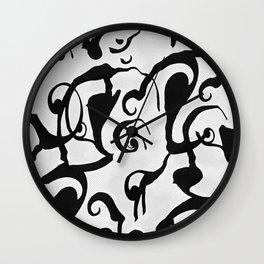 Cessalea Swirling Wall Clock