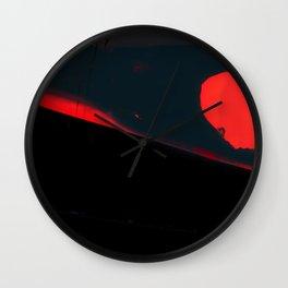 LONG TIME TO TOMORROW - #6 CROW Wall Clock