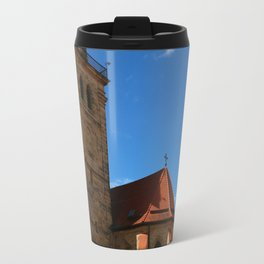 A Church In A Bavarian Village Travel Mug