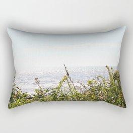 The Ocean Calls (Summer) Rectangular Pillow