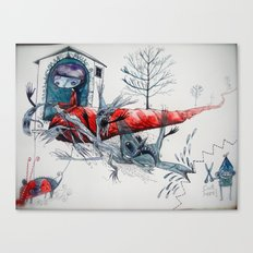 [picture of bad dream ] Canvas Print