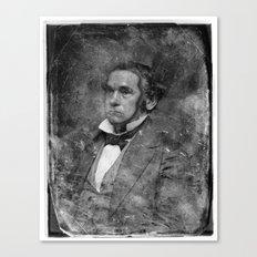 de.faced Canvas Print