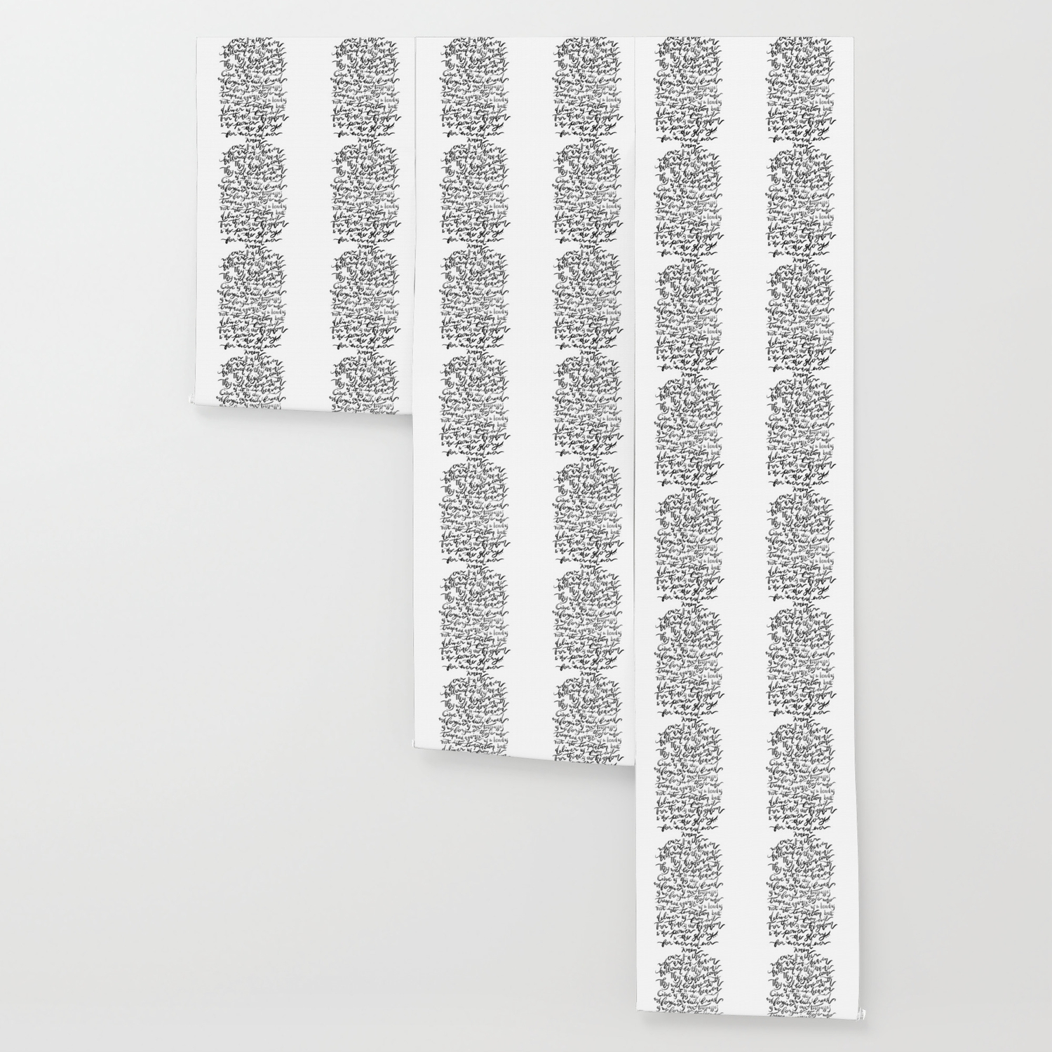 The Lord S Prayer Bw Wallpaper By Joyfultaylor Society6