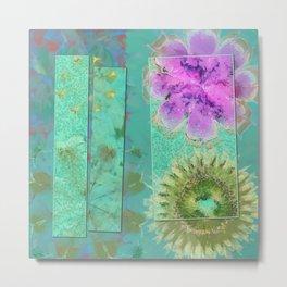 Dezincking Existence Flower  ID:16165-094422-82461 Metal Print