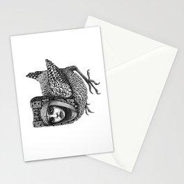 Strange Bird Stationery Cards