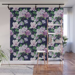 Magnolia Floral Frenzy Wall Mural