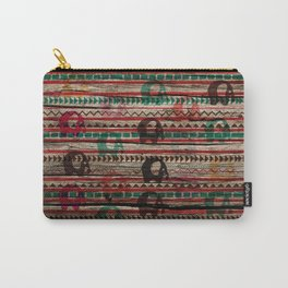 Elephant Wood Carry-All Pouch