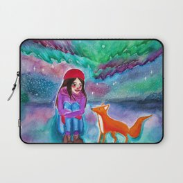 CAELA (& the Northern Lights, V.2) Laptop Sleeve