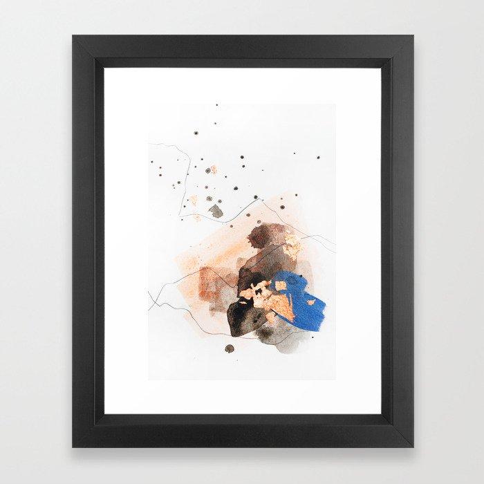 Divide #4 Framed Art Print