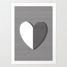 Love can make you dizzy Art Print