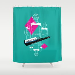 Whip It Shower Curtain
