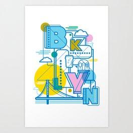 BKLYN Art Print