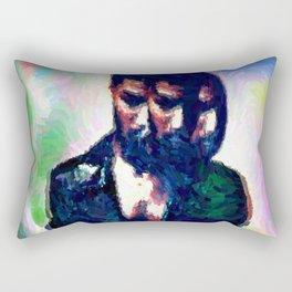 Balmain Jeans//Scott Mescudi Rectangular Pillow