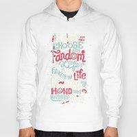 risa rodil Hoodies featuring Fandom Life by Risa Rodil
