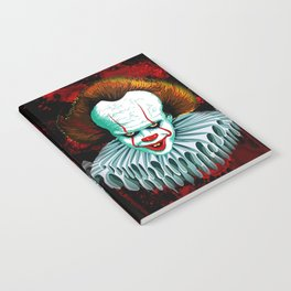 The Dancing Clown - Pennywise IT - Vector - Stephen King Character Notebook